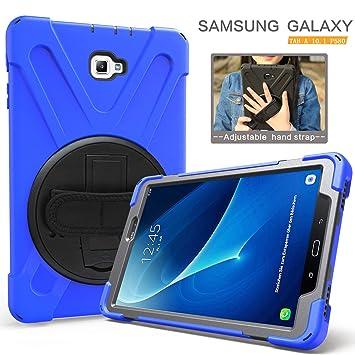 Amazon.com: Carcasa híbrida para Galaxy Tab A 10.1, 3 capas ...