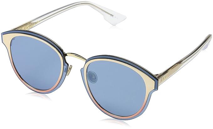 Christian Dior Damen Sonnenbrille DIORSPLIT1 RD Y4E, Blau (Bluette/Red Grey Speckled Marl), 59