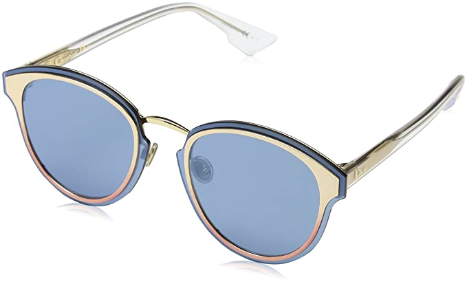 Dior DIORNIGHTFALL 2A 35J Gafas de Sol, Rosa (Pink/Blue Grey ...