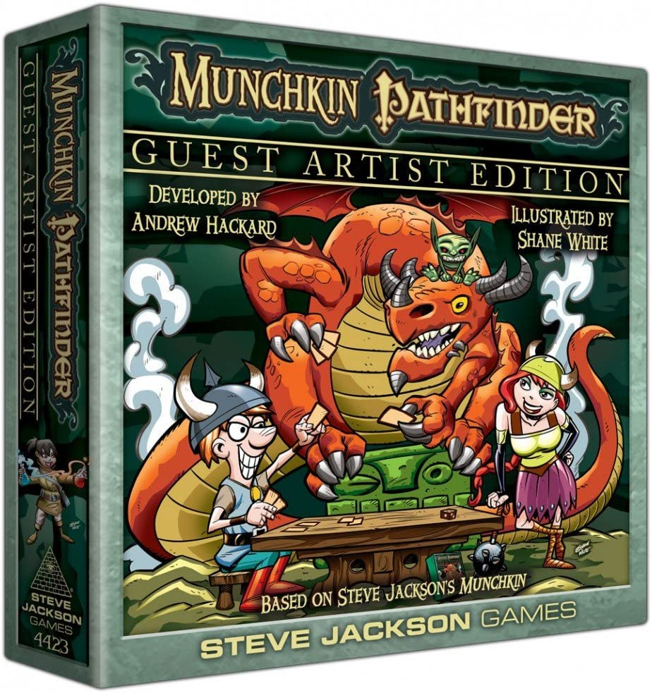 Steve Jackson Games sjg04423 – Munchkin Pathfinder Guest Artist Edition, Juego de Cartas: Amazon.es: Juguetes y juegos