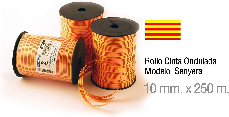 Rollo Cinta Decorativa de la Bandera Catalana Senyera - Tamaño ...