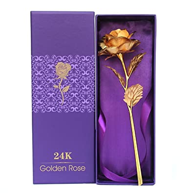 2fe50965d33 Buy Youbella Gold Plated Rose Flower With Gift Box (Gold) Online at ...