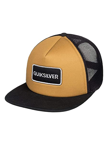 Quiksilver - Gorra Trucker - Hombre - One Size - Marrón: Amazon.es: Ropa y accesorios