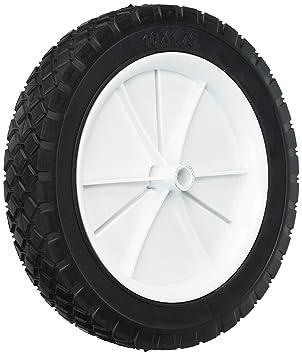Pastor Hardware 9615 – semi-pneumatic goma de repuesto neumáticos, rueda de plástico,