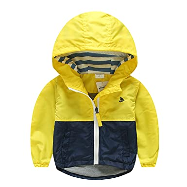 85cd22e14442 Amazon.com  Surprising Day Kids Toddler Boys Jacket Coat Spring ...