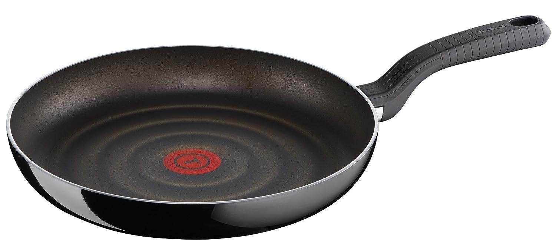 Tefal D5030502 Sartén, Aluminio, Negro, 26 cm