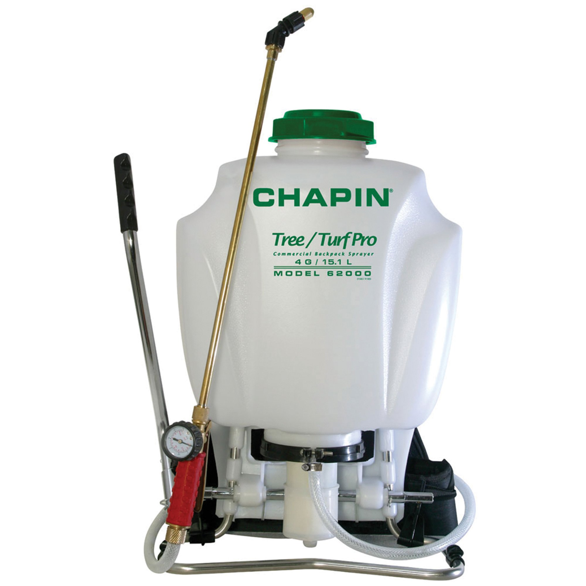 Chapin 62000 4-Gallon Tree/Turf Pro Commercial Backpack Sprayer With Control Flow Valve Technology For Fertilizer, Herbicides and Pesticides by Chapin International (Image #1)