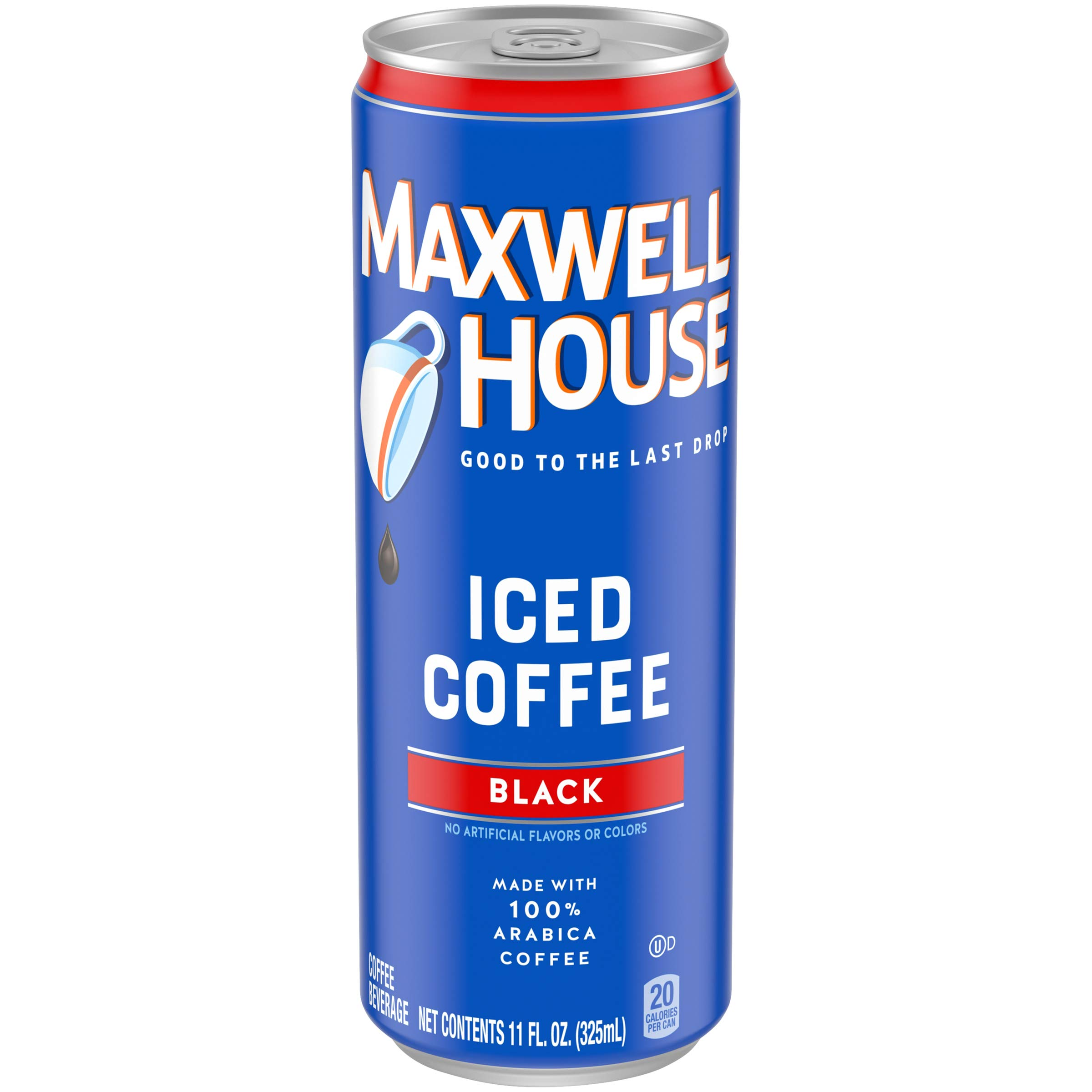 Maxwell House Iced Coffee, Black, 11 Fl. Oz. (Pack Of 12)