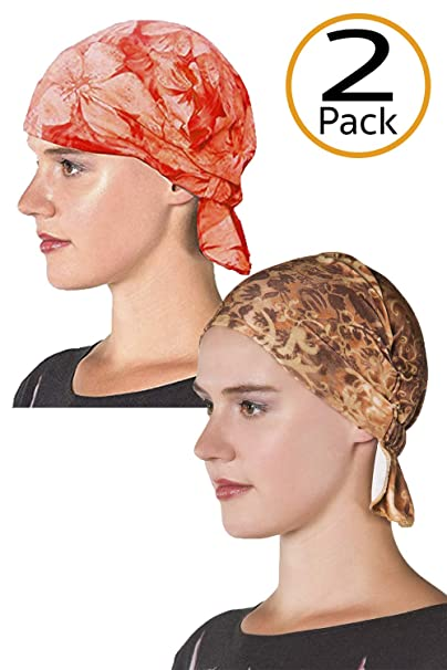 d7d0ecfc167 Amazon.com  Chemo Cap Women s Head Wrap