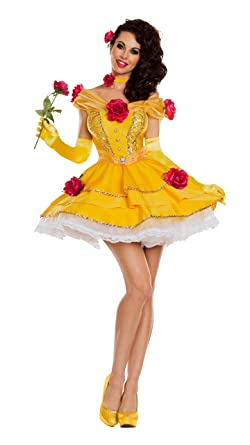 fbd58f4f65d23 Amazon.com: Party King Women's Belle of The Ball Costume: Clothing