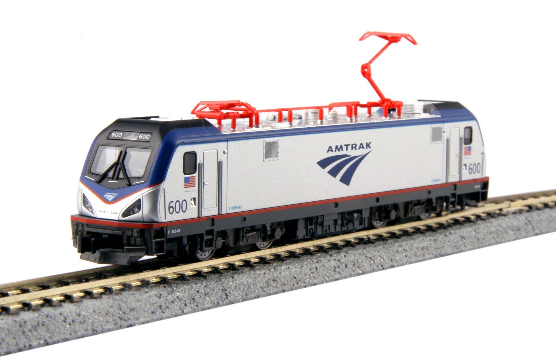 Kato 137-3001-DCC N Siemens ACS-64 Amtrak #600 David L Gunn DCC Installed