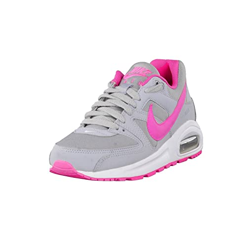 Damen Nike Air Max 90 Grade School WeißWeiß Leather Schuhe