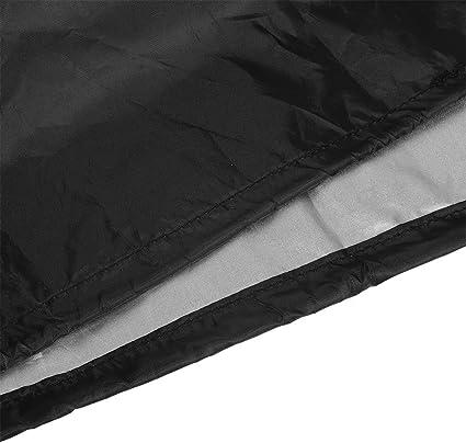 Schwarz Patio Deck Box Cover Garten-Aufbewahrungsbeh/älter-Abdeckung wasserdichte Faltbare Breath Oxford-Gewebe Gartenm/öbel Abdeckung 123x62x55cm MAGT Deck Box Cover