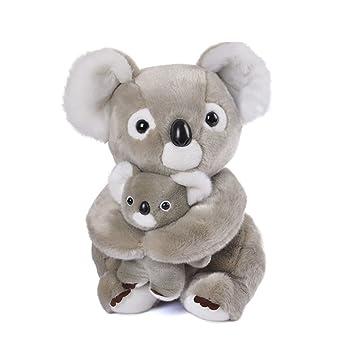 Amazon Com Lazada Mum Koala Hold Baby Koala Stuffed Animal Plush