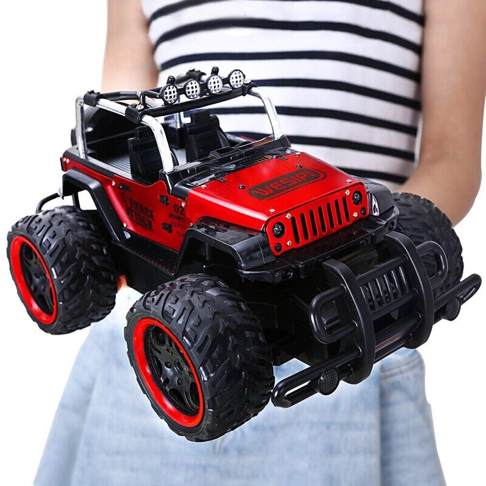 Cross Country 4x4 >> Kikioo All Terrain Rc Car 1 24 4wd Alloy Chargeable Rock