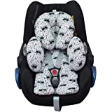 JANABEBE Reducer Cushion Infant Head & Baby Body Support Antiallergic Raccoon, New Design