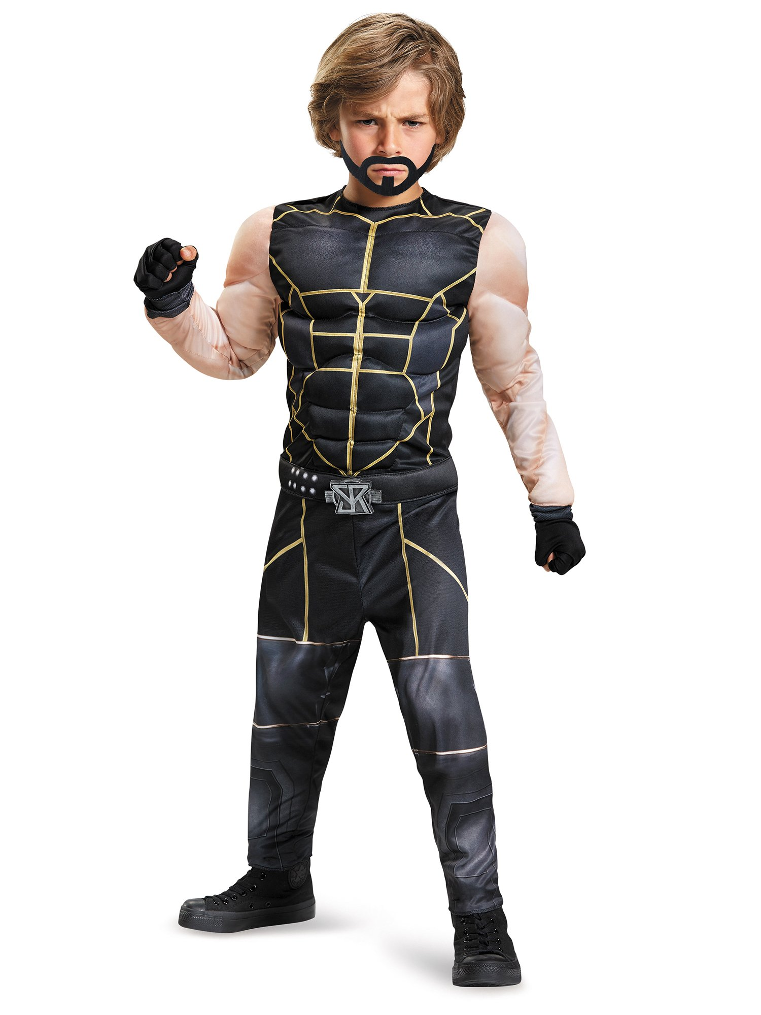 Seth Rollins Classic Muscle WWE Costume, Medium/7-8 by Disguise