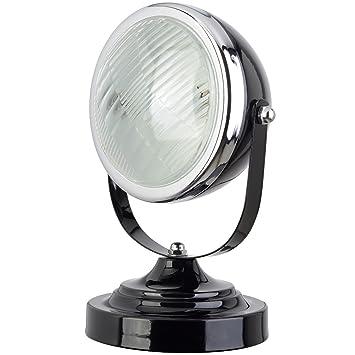 Lampe Phare Voiture 17 Métal De 33 Neoly 20 002 X 2m Cm Noir Orientable H27 SUpqzGLMV