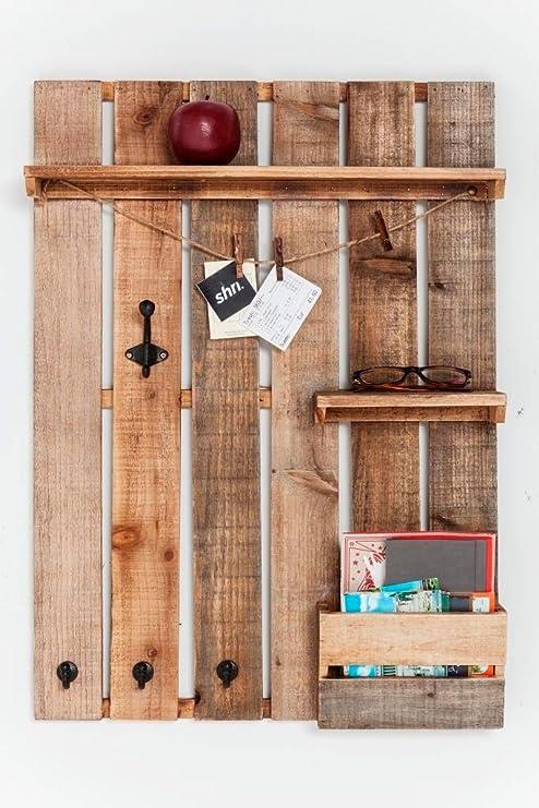 Kare 81654 Wandgarderobe Shabby Chic: Amazon.de: Küche ...