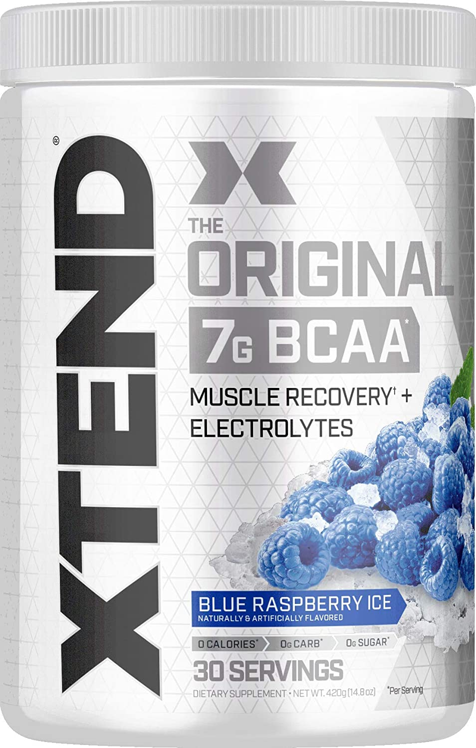 XTEND Original BCAA Post Workout Muscle Recovery Drink with Amino Acids