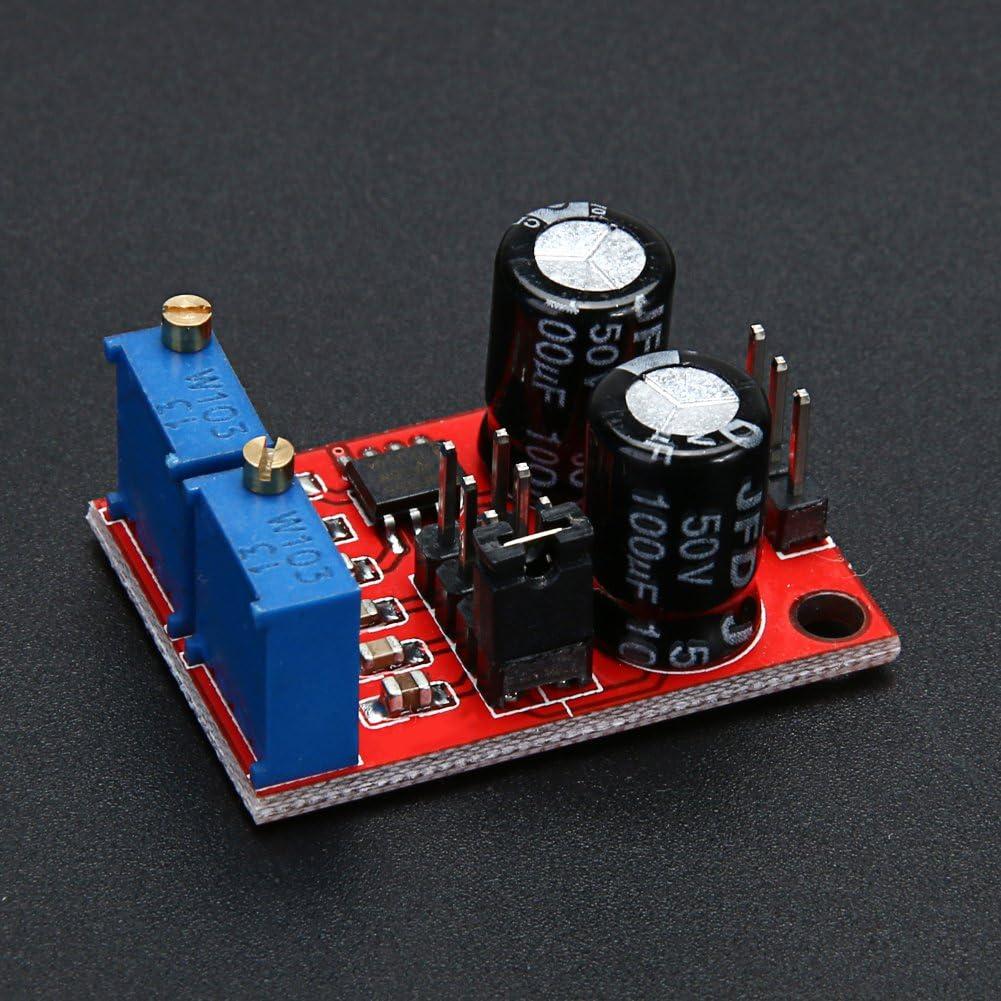 M/ódulo generador de se/ñal de onda NE555 frecuencia de pulso ciclo ajustable de amazingdeal365
