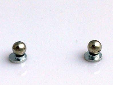 b746b335f9a69c Amazon | AWAJI 2個セット まる ボール マグネットピアス 4mm | イヤリング 通販