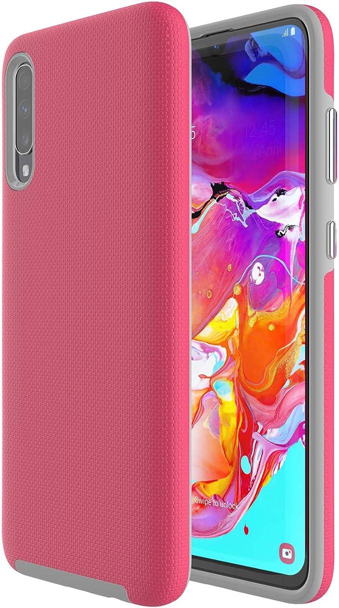 ALDHOFA Samsung A70 Case, híbrido delgado Samsung Galaxy A70 teléfono cubierta de silicona para niñas, mujeres: Amazon.es: Electrónica