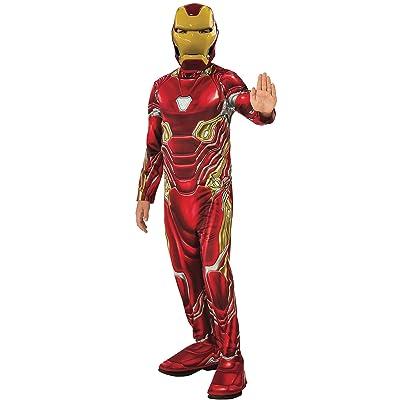 Rubie's Marvel Avengers: Endgame Child's Iron Man Mark 50 Costume & Mask, Medium: Toys & Games