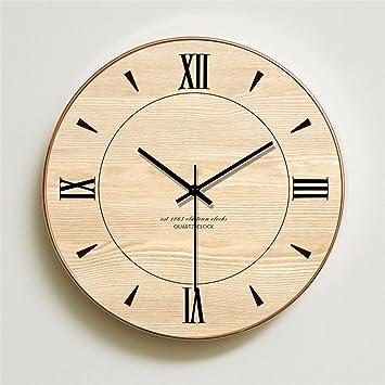 WERLM Diseño personalizado decorativos para el hogar reloj de pared Reloj de arte reloj de pared minimalista moderno salón ...