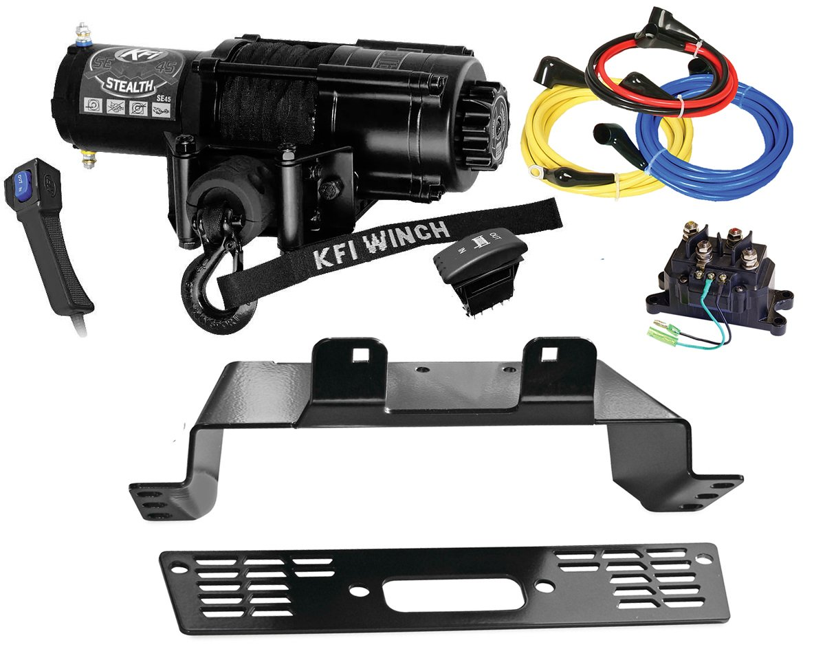 Kfi Se45 R2 Winch Mount Combo Kit 2010 2014 Polaris 800 Ranger E64 Bmw Engine Wiring Harness