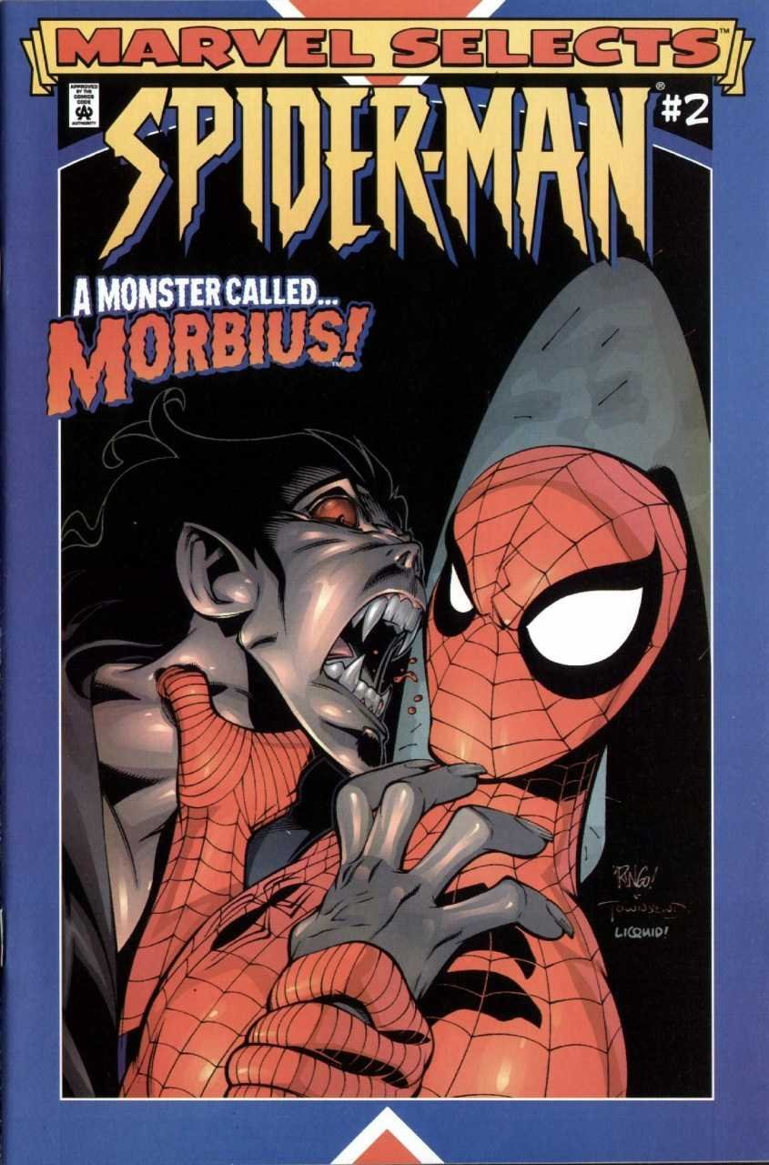 Download Marvel Selects Spider-Man #2 A Monster Called Morbius! pdf epub