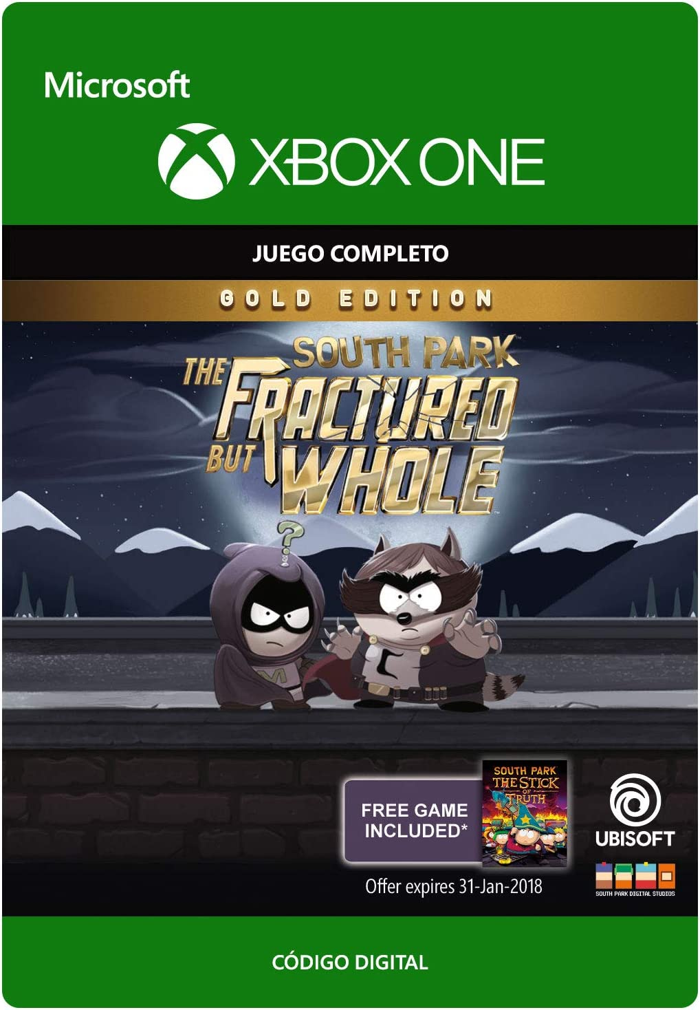 South Park: Fractured But Whole: Gold Edition | Xbox One - Código ...