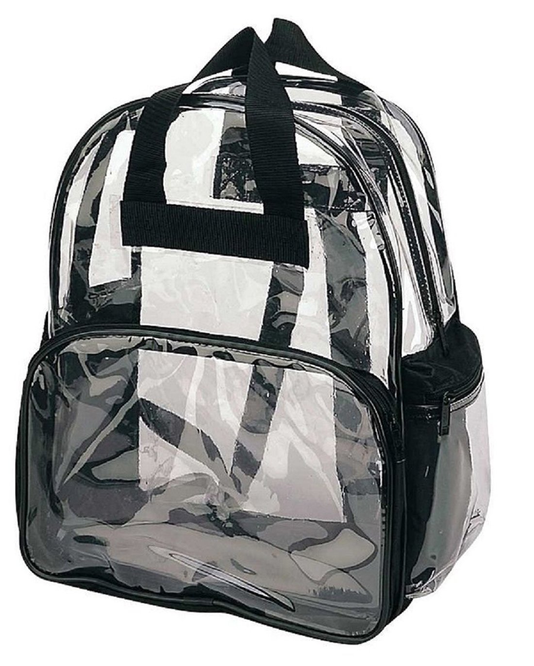Backpack Clear School Bag Transparent Pvc New See Plastic