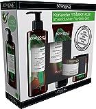 L' Oréal Paris Botanicals Fresh Care Coriandolo Forza di Kur Set Shampoo, Balsamo, Maschera