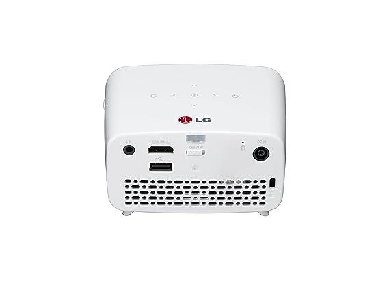 LG PH300.AEU - Proyector, 300 lúmenes ANSI, color blanco