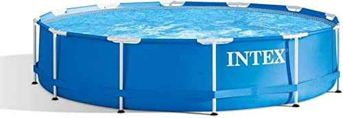 Intex 28210EH 12 Foot x 30 Inch Above Ground Swimming Pool That Fits up to 6 People