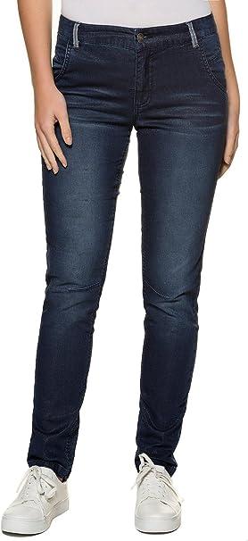 TALLA 44. GINA LAURA Jeans Tina Ng Goldige Oberfläche Vaqueros Straight para Mujer