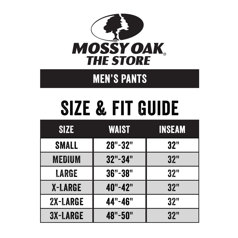 Mossy Oak Men's Tibbee Technical Lightweight Camo Hunting Pants, Greenleaf, Small by Mossy Oak (Image #3)
