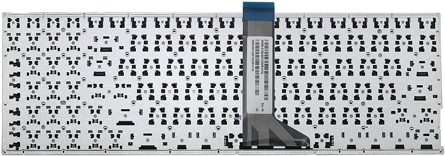 wangpeng US Laptop Keyboard for ASUS X553M X553MA K553M K553MA Series Laptop US Keyboard Black