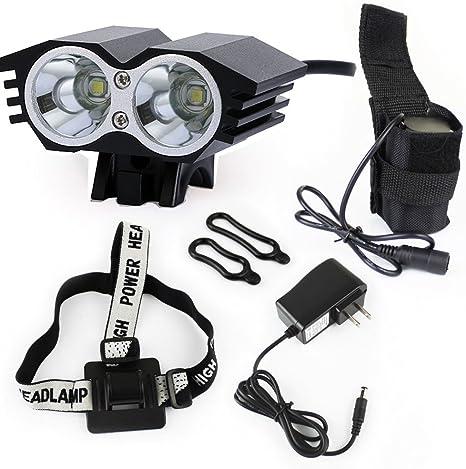 Owl bicicleta LED 5000 lumens XML U2 LED luz de la bicicleta ...