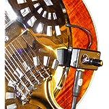 Resonator Guitar Pickup with Flexible Micro-Gooseneck by Myers Pickups