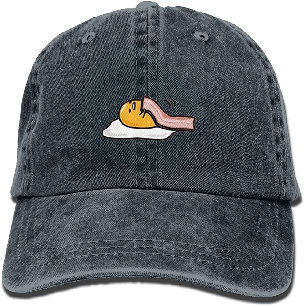 Tocino más Huevo Gorra de béisbol clásica Comodidad Snapback Gorra ...