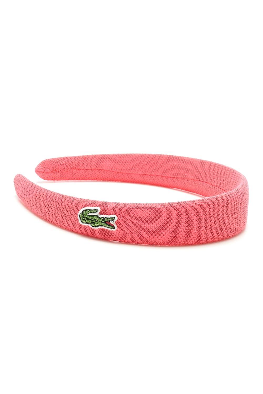 2682450a15cee Amazon.com: Lacoste Women's Pique Headband One / Eurtu Frusion Pink ...