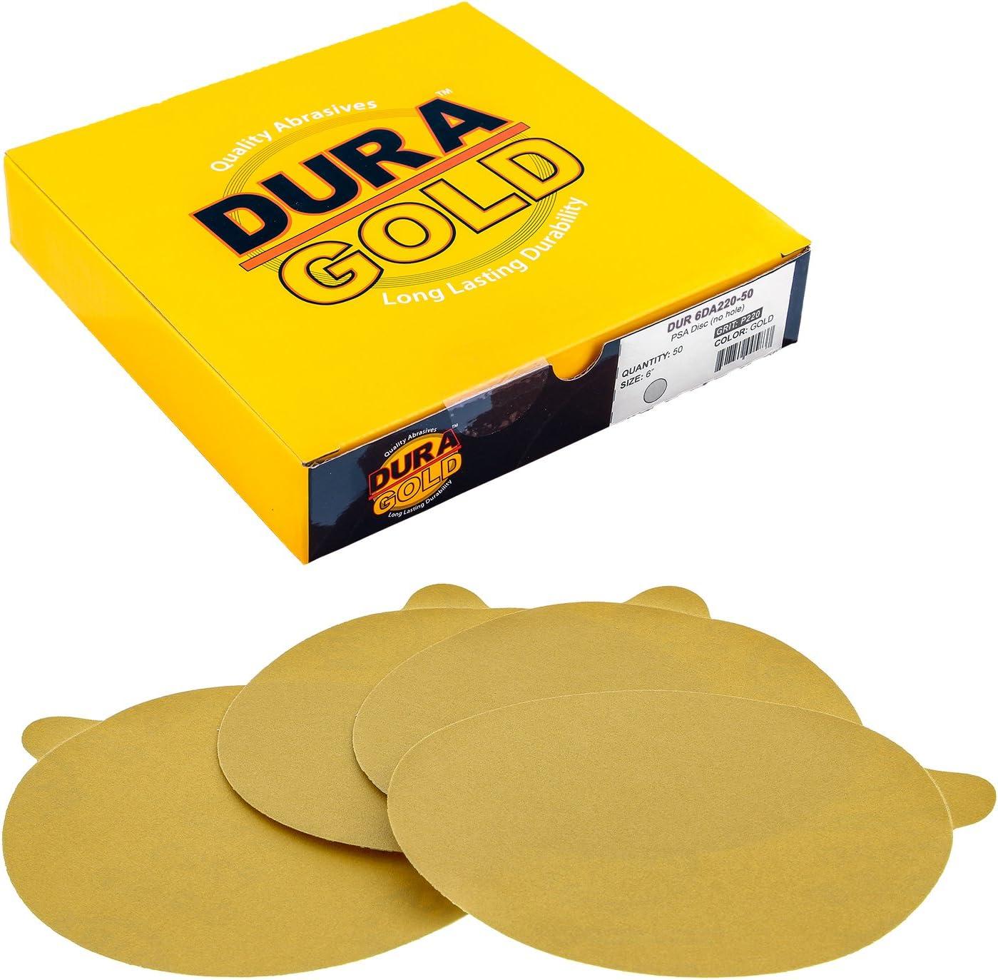 "Sand Paper PSA 6/"" DA 500 Grit Stick-on 25 Pcs"