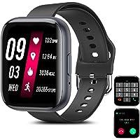 Smartwatch Pulsera Inteligente, Odar Reloj Inteligente Deportivo, Reloj Deportivo Pantalla Táctil Impermeable IP67…