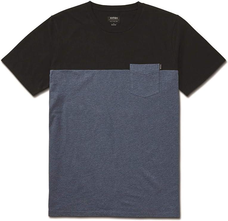etnies Camiseta con Bolsillo Lewis Denim-Heather (XL, Azul): Amazon.es: Ropa y accesorios