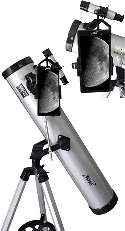 Telescopio 700-76 +Smartphone Adaptador DKA5: Amazon.es: Electrónica