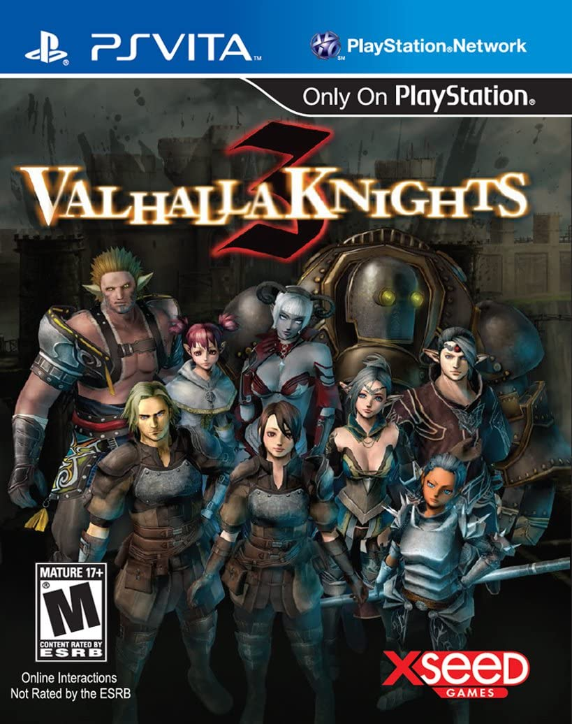 Amazon com: Valhalla Knights 3 - PlayStation Vita: Xseed Jks