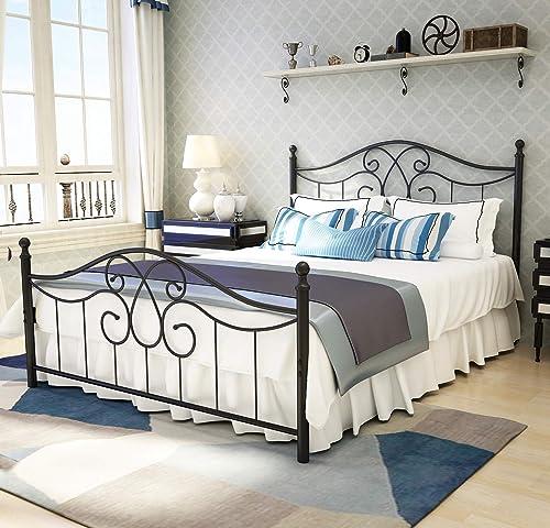 Metal Bed Frame Queen Size
