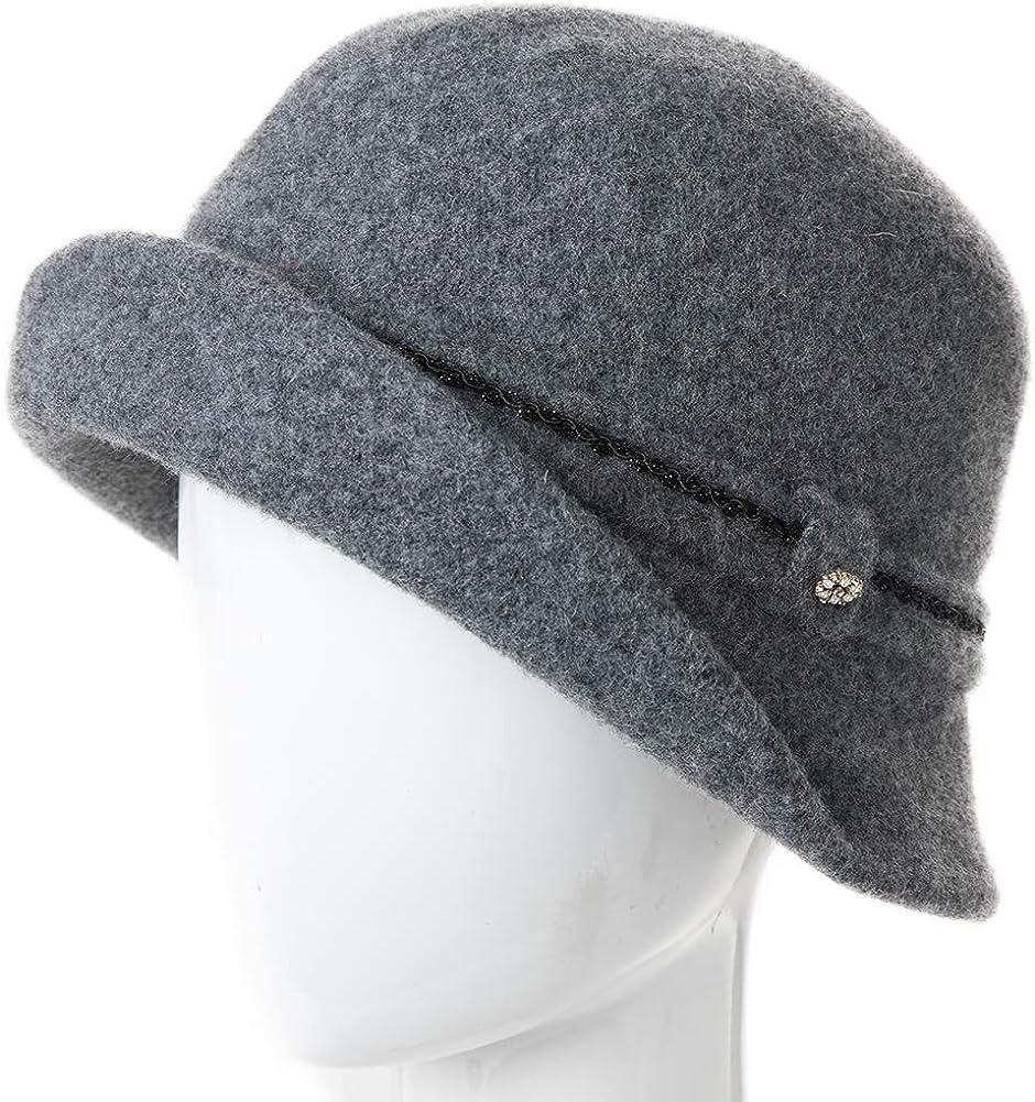 1960s – 70s Hats, Wigs, Gloves, Scarves Womens 1920s Vintage Wool Felt Cloche Bucket Bowler Hat Winter Crushable $21.99 AT vintagedancer.com